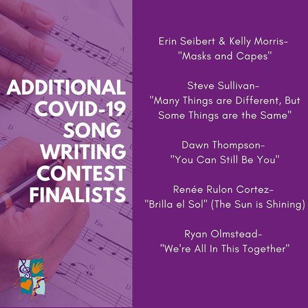 COVID-19 Song Contest Finalists