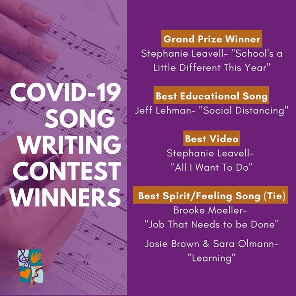 COVID-19 Song Contest Winners